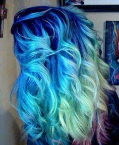 Colored Hair Chalk