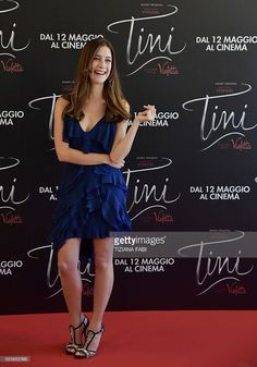 Actress Clara Alonso poses during a photocall of the movie Tini - La Nuova Vita Di Violetta (Tini - The New Life of Violetta), on april 29,2016 in Rome. / AFP / TIZIANA