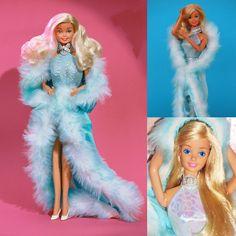 1980s Barbie, Vintage Barbie Dolls, Mattel Barbie, Barbie And Ken, 80s Girl Toys, Black Barbie, Barbie Accessories, Barbie Collection, Barbie Friends