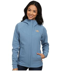 THE NORTH FACE THE NORTH FACE - MADDIE RASCHEL HOODIE (COOL BLUE/COOL BLUE) WOMEN'S COAT. #thenorthface #cloth #