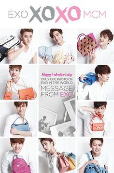 EXO X MCM Happy Valentine's Day