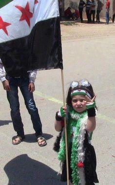Syrian little girl.