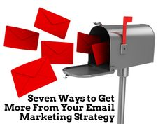 Seven Email Marketing Tips. Get more from http://www.ajaxunion.com/services/email-spark/!
