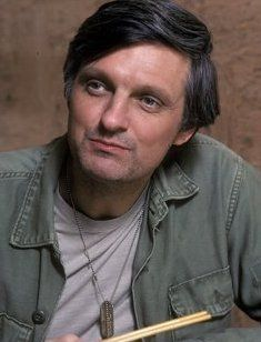 MASH. One of the best TV shows ever. I still have a crush on Alan Alda!
