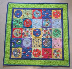 A peanuts quilt...must do this again