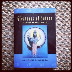A great book for Jyotish from one of my teachers, Dr Robert Svoboda: The Greatness of Saturn BLOG ==> http://yogaenergy.me/2011/05/26/yoga-energys-days-of-the-week-monday-tuesday-wednesday-part-i/ #ayurveda #recipes #cleanses #sevendaycleanses #jyotish #crystals #chakras #ayurvedatraining #yogaalliance #vedic #saturn