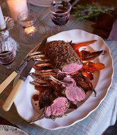 Rack-of-Monachyle-venison-with-haggis-crust-and-rosemary-jus