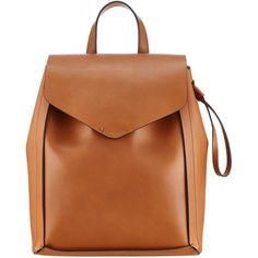 Rental Loeffler Randall Couio Mini Backpack ($60) ❤ liked on Polyvore featuring bags, backpacks, brown, mini backpack, brown bag, loeffler randall, mini bag and backpacks bags