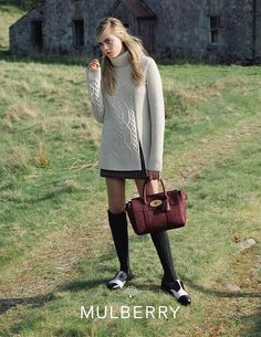 Cara Delevingne for Mulberry Campaign AW14