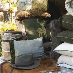 De nieuwe collectie herfst 2013 van Rivièra Maison is binnen! Het thema van deze herfst is Hunting Touch. Kom het bekijken bij Van Gils Lifestyle.