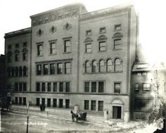 Missouri Dental College and St. Louis Medical College. 1806-1814 Lucas Place. (1900 to 1902) Missouri History Museum