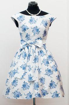 Sandra Dee flower dress, so fresh! - Abito Sandra Dee floreale, così fresco!