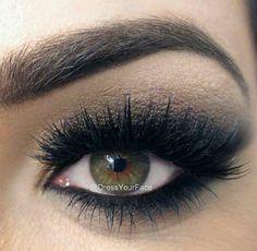 Black Smokey eye ♡