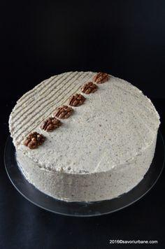 Tort cu nuca reteta nostalgica Savori Urbane (2) Sweets Recipes, Desserts, Sugar And Spice, Vanilla Cake, Nostalgia, Spices, Cakes, Classic, Rome