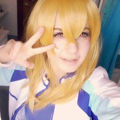 Aaaaaerrrgg I try to do fem Nagisa ..... #Nagisahazuki #femnagisacosplay #femnagisahazuki #femnagisahazukicosplay #aeno #cosplayistant #costest #freeiwatobiswimclub #cosplay #animecosplay #anime #weebo