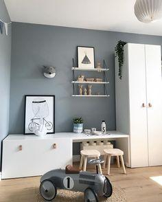 Stunning kidsroom, interior design, Scandinavian style - Kinderzimmer - Deco Home Baby Room Boy, Baby Bedroom, Kids Bedroom, Bedroom Ideas, Ikea Girls Room, Trendy Bedroom, Nursery Ideas, Deco Kids, Cool Kids Rooms