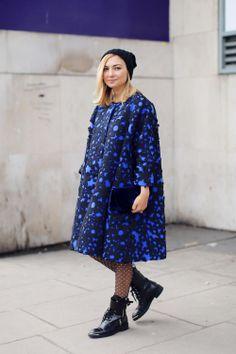 London fashion Week autumn/winter 2014 Nasiba Andilova