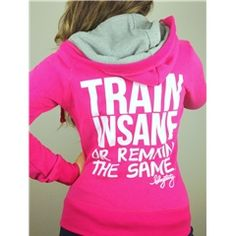 Cutest workout clothes ever. I would pass out in a hoodie though.
