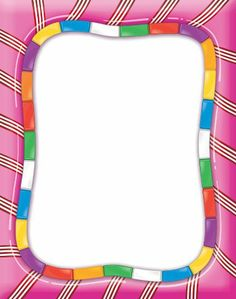 "Amazon.com : Eureka Candy Land 8 x 11"" Computer Paper Frame, 50-Sheet : Childrens Paper Craft Kits : Toys & Games"