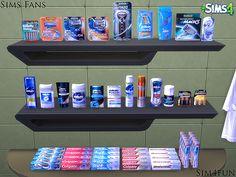 My Sims 4 Blog: Shaving/Bathroom Clutter by Sim4Fun