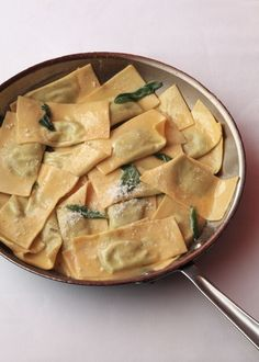 Italian Food ~ ~ Homemade ravioli with broccoli rabe, potato and ricotta by Mario Batali Couscous Dishes, Pasta Dishes, Italian Dishes, Italian Recipes, Italian Cooking, Fun Cooking, Cooking Recipes, Pasta Recipes, Cooking Tips