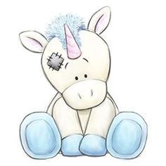 Legend the Unicorn / Tatty Teddy Tatty Teddy, Teddy Bear, Blue Nose Friends, Cute Drawings, Animal Drawings, Drawing Sketches, Drawing Ideas, Cute Images, Cute Pictures