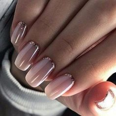 Pretty natural nails pink and gold Manicure nude and natural nail polish # … – Beauty & Makeup Gold Manicure, Wedding Manicure, Wedding Nails Design, Rose Gold Nails, Bridal Nails, Pink Nails, Manicures, Rose Gold Nail Design, Rose Gold Gel Polish
