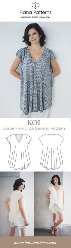 972 best Modern Sewing Patterns images on Pinterest | Sewing ...