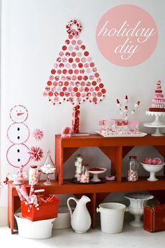 Red Christmas! #Christmas #decor