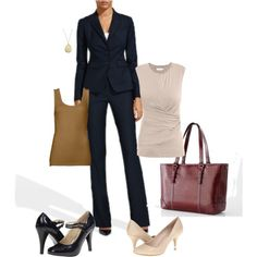 """""""Interview outfit"""" by tarat3232 on Polyvore"""