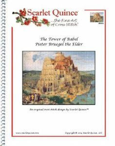 Amazon.com - The Tower of Babel - Pieter Bruegel: Counted Cross Stitch Chart (Regular size symbols)