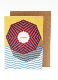 Beach Postcard - Papier Tigre