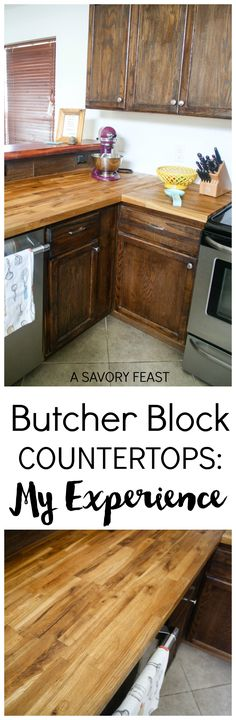 butcher block countertops my experience