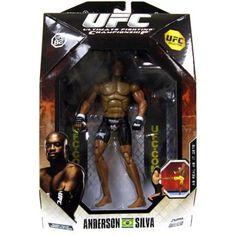 UFC UFC Collection Series 1 Anderson Silva Action Figure [UFC 82], Multicolor