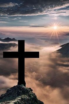 Jesus Christ died on the cross as payment for your sins and my sins. Iceland Landscape, God Jesus, Faith In God, Christian Inspiration, Jesus Loves, Christian Faith, God Is Good, Word Of God, Holy Spirit