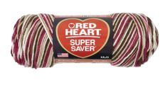 Cherry Chip Yarn by red heart-----For my next crochet project