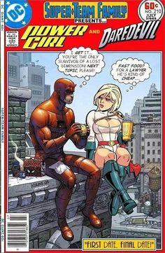 Daredevil and Powergirl