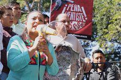 Karina Barón encabeza Caminata Pies en resistencia 24 horas  contra el gasolinazo