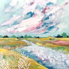 Original paintings for sale through my studio Abstract Landscape Painting, Oil Painting Abstract, Landscape Art, Landscape Paintings, Watercolor Art, Landscapes, Impressionist Landscape, Impressionism Art, Guache