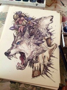 Disorder by WolfSkullJack.deviantart.com on @DeviantArt