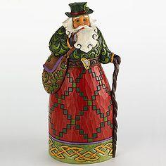Jim Shore® Irish Santa