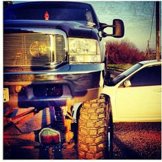 #ford #powerstroke #turbo #diesel #lifted #truck
