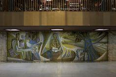 Querubim Lapa | Glorificação do trabalho Intelectual | Reitoria da Universidade de Lisboa | 1961