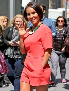 Star Tracks: Thursday, June 4, 2015 | HELLO THERE | Jada Pinkett Smith makes waves in a cute red romper as she walks through New York City on Wednesday.