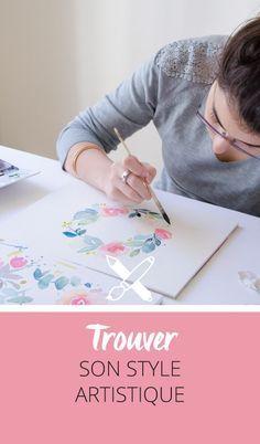 Comment trouver son style artistique? voici une question compliquée! J'aborde plusieurs pistes de réponse sur le blog et parle de mon approche. Cliquez pour découvrir l'article ou enregistrez l'image pour plus tard!