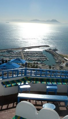 #Cafe_Des_Delices - #Sidi_Bou_Said, #Tunisia http://en.directrooms.com/hotels/country/4-73/