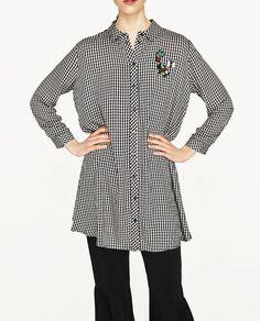 Image 4 of GINGHAM DRESS from Zara
