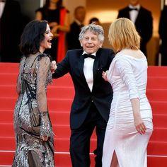 Cannes Emmanuelle Seigner et Eva Green réunies pour le prochain Polanski Eva Green, Vigan, Emanuelle Seigner, Roman Polanski, Formal Dresses, Styles, Action, Amor, Cannes Film Festival