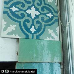 @marokkolaiset_laatat näissä laatoissa on vahva käsintekemisen meininki. Kohteelta vaaditaan jotain muuta kuin skandinaavista puhtautta. Olisi mielenkiintoista nähdä kohde joissa näitä on käytetty.  #marokkolaisetlaatat  #laatat #laatta #kaakalit #kaakeli #käsityö Instagram