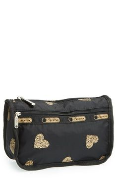 travel cosmetic case / lesportsac I would love this! Vanity Bag, Makeup Bags, Cosmetic Pouch, You Bag, Luxury Travel, Bag Storage, Travel Style, Pouches, Purses And Bags